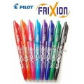 Pilot, pens with gum and reserves
