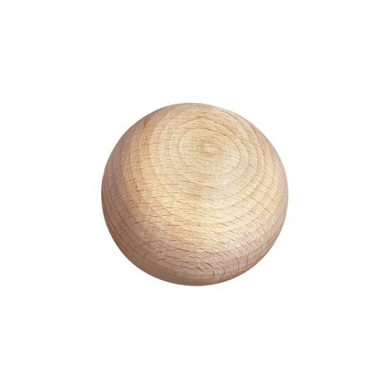 Raw-wood balls, undrilled, 30mm ø