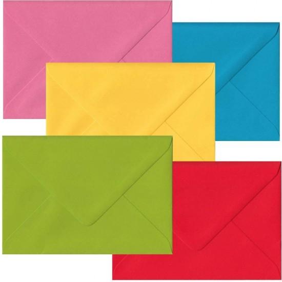 Envelope C6, plain-coloured,FSC MixCred., 156x110mm, 90g/m2